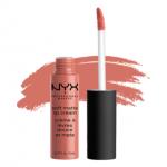 NYX SOFT MATTE LIP CREAM #SMLC14 ZURICH สีชมพูอมส้ม โทนอบอุ่นแต่สดใส