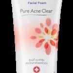Biore Facial Foam Pure Acne Clear (บิโอเร เฟเชี่ยล โฟม เพียว แอคเน่ เคลียร์) 100g