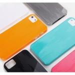 เคส IPHONE 5 - เคส Rock Texture Hard case คุณภาพดี ผิวมันเงา สีสวย ปกป้องตัวเครื่องได้ดี ลดแรงกระแทก แถมฟรี !! ฟิลม์กันรอย