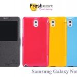 เคสหนังฝาพับ Samsung Galaxy Note 3 ยี่ห้อ Nillkin Leather Fresh