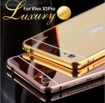 Luxury Bumper with Mirror Cover สำหรับ Vivo X5 Pro