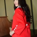 NEW !! ( รหัสสินค้า KC-014 ) เสื้อกันหนาว เสื้อโค้ทแฟชั่นสไตส์เกาหลี ตัวสั้นแบบน่ารักๆ สีแดง