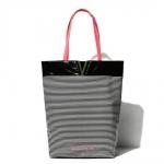 (Preorder กันยายน 57) Victoria's Secret metallic pinstripe shoulder bag