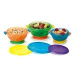 จานชามเด็ก Munchkin Stay Put Suction Bowls (Pack of 3)