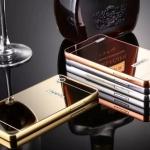 Luxury Mirror Case with Aluminium Bumper สำหรับ Oppo Mirror 5 - A51