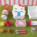 พร้อมส่ง so cute Hello Kitty Re-ment Bento set
