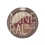 Skinfood Mineral Sugar Triple Shadow #4 Plum Brown