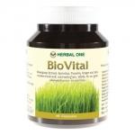 BIOVITAL สารสกัดจากต้นข้าวสาลีอ่อน (wheatgrass), สไปรูไลน่า, ขมิ้นชัน และสมุนไพรอื่นๆ 60 capsule
