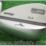 MIZUNO MP-T5 WHITE SATIN WEDGES 58* DYNAMIC GOLD FLEX WEDGE