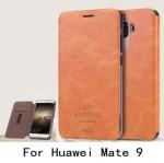 เคสหนังฝาพับ สไตล์วินเทจเรียบหรู Huawei Mate 9
