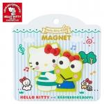 พร้อมส่งค่ะ Magnet ติดตู้เย็น Sanrio 40th Anniversary Kitty&Keroppi