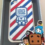 เคส iPhone 4 4s สกรีนนูน ลายคนธงชาติ รุ่น Limited (NIL Technology)