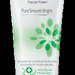 Biore Facial Foam Pure Smooth Bright (บิโอเร เฟเซี่ยล โฟม เพียว สมูท ไบรท์ ) 100g