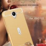 Luxury Mirror Bumper สำหรับ Vivo Y22