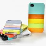 เคส Iphone 4/4s - Case Moshika Shell Hard Case สลับสีได้ที่ละชิ้น น่ารักมากๆสีสันสดใส วัสดุคุณภาพดี