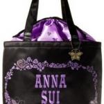 กระเป๋า ANNA SUI HAPPY 15th ANNIVERSARY IN JAPAN พร้อมจี้ห้อยโลหะรูปผีเสื้อ สวยจนแทบไม่ต้องบรรยายค่ะ