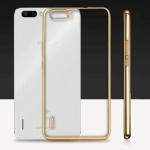 เคสบัมเปอร์ยางนิ่ม ขอบสีโครเมี่ยม Huawei Honor 6 Plus