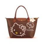 [Preorder] กระเป๋าถือแฟชั่น Hello Kitty สีกาแฟ Zhendian treasure waterproof bag swimming bag Hello Kitty cartoon fashion handbags shoulder bag shopping bag