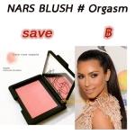 ลด37.5% Nars Blush สี Orgasm (4.8g.)ขนาดขายจริงมีกล่อง counter ห้างไทยปัดแก้มสีที่ได้รับความนิยมสูงสุด โทนออกชมพูมีวิ๊งเล็กๆสีทอง ปัดแล้วดูGlow ปัดเดี่ยวหรือทับกับเฉดสีอื่นเพื่อสร้างมิติที่โดดเด่น