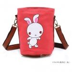 [Preorder] กระเป๋าสะพายข้างลายสัตว์ประจำปีนักษัตร ลายกระต่าย (ปีเถาะ) North bag 2013 Korean version of the original cartoon Zodiac constellation pattern leisure Shoulder Messenger bag