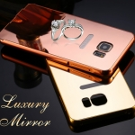Luxury Mirror Cover with Bumper For Samsung Galaxy Note 5