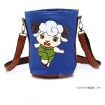 [Preorder] กระเป๋าสะพายข้างลายสัตว์ประจำปีนักษัตร ลายแพะ (ปีมะแม) North bag 2013 Korean version of the original cartoon Zodiac constellation pattern leisure Shoulder Messenger bag