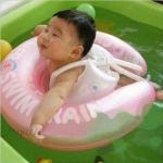 Size M สุดฮิต ชมพู ห่วงยางพยุงหลัง Baby Swim Trainer Float ห่วงยางเล่นน้ำเด็กเล็กพยุงหลังล็อค 2 ชั้นโอบรอบตัวสุดฮิต (6 เดือน -2 ขวบ) ( -วิธีใช้ดูในคลิปวีดีโอค่ะ) (สายพาดบ่าไม่จำเป็นต้องเป่านะคะ ตัวปีกนางฟ้าโตแล้วไม่ต้องเป่า)