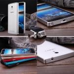 เคส Oppo Find 5 Mini - R827 รุ่น Aluminium Bumper สุดหรู !!