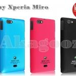 เคส Sony Xperia Miro - ST23i ชนิดแข็งบาง รุ่น IMAK Hard Slim