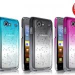 เคสแข็งบางลายหยดน้ำ Samsung Galaxy Advance - I9070 รุ่น Imak RainDrop