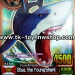 ANIMAL KAISER Blue The Young SHARK [BRONZE RARE] ANIMALCARD V.2