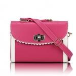[Preorder] กระเป๋าสะพายข้างแฟชั่นเก๋ๆ สไตล์ Retro สี Rose (บานเย็น) 2013 new handbag shoulder bag handbag Messenger bag handbags Korean sweet little fresh influx of women bags