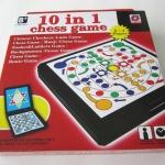10 in 1 Chess game รวมเกมหมากรุกฝรั่ง หมากฮอส บันไดงูและอื่นๆ
