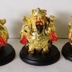 เทพฮกลกซิ่ว องค์เล็กสีทองแบบอ้วน เสริมดวงปีขาล ปี2560ค่ะ