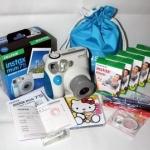 [Preorder] เซ็ตกล้องถ่ายรูปโพลาลอยด์ Fuji Mini 7S สีฟ้า พร้อม 5 แพ็คโฟโต้เปปเปอร์ และของแถมอื่นๆ อีกมากมาย Official licensed Fuji imaging mini7s the Mini 7S blue bundle