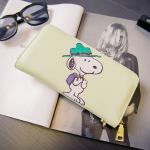[Preorder] กระเป๋าสตางค์แบบยาว Snoopy (Kitty kitty change bag holding wild card Wallet)