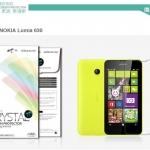 ฟิล์มหน้าจอ Nokia Lumia 630 เกรดพรีเมี่ยม ยี่ห้อ NILLKIN