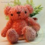 ตุ๊กตาหมีพวงกุญแจผ้าขนยุ่ง ขนาด 10 cm. - Ciabatta