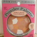 ❤❤ พร้อมส่งค่ะ ❤❤  Physicians Formula Powder Palette Multi-Colored Face Enhancer - Peach-To-Glow@1659 ขนาด.3 oz (9 g)