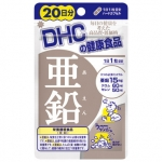 DHC Zinc 20 วัน บำรุงผิวพรรณให้ชุ่มชื้น ลดการเกิดสิว