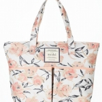 Snidel floral tote bag with 3 pockets จากนิตยสาร Sweet 2011