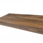 กระดานหมากล้อมไม้จามจุรีมาตรฐาน
