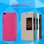 เคสหนังฝาพับ Huawei Ascend P8 ยี่ห้อ Nillkin Sparkle Leather