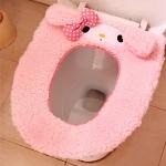 พร้อมส่งค่ะ Hello Kitty/ My Melody ที่รองนั่งชักโครก(มีสายรัด) สำหรับฤดูหนาว