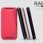เคสหนังฝาพับ HTC One 2 - M8 ยี่ห้อ Nillkin RAIN Leather