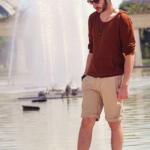 กางเกงขาสั้นผู้ชายแนวๆ