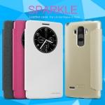 เคสฝาพับ LG G4 Stylus ยี่ห้อ Nillkin Sparkle Leather
