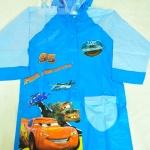 เสื้อกันฝนลายการ์ตูน Cars (Size 8)