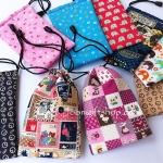 กระเป๋าหูรูดงานฝีมือ ใส่โทรศัพท์ โหลละ 180 บาท (12 ชิ้น)