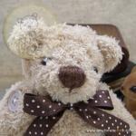 ตุ๊กตาหมีผ้าขนปุกปุยขนาด 13 cm. - Herbie